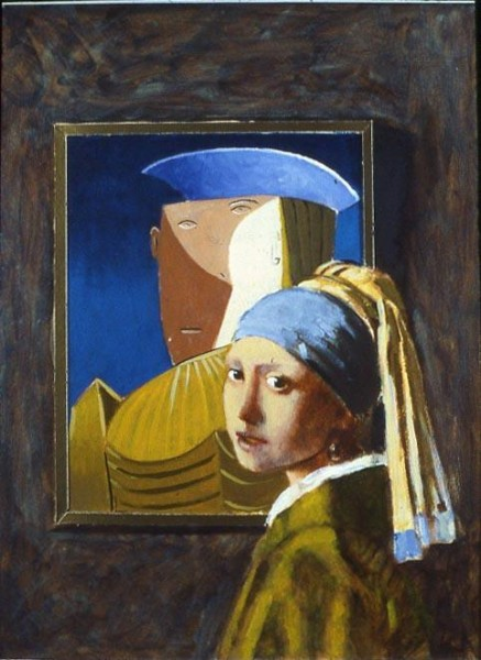 girl with mirror picasso