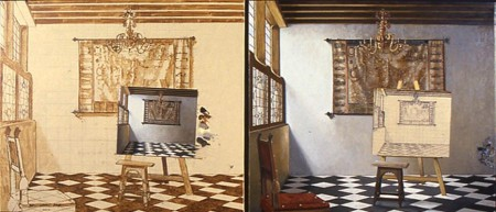 The Art of Painting, diptych