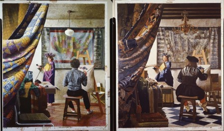 Artist in His Studio, The (diptych)