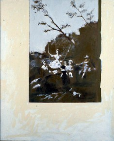Composition with Goya #3 1963