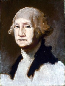 George Washington in White Face