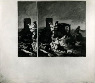Composition with Goya #4