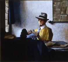 David Warrilow in a Vermeer Interior