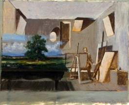 The Landscape Painter (Study)