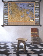 A Stool, A Chair, and a Map