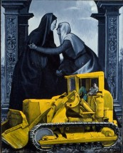 Composition in Black and Yellow (The Visitation)